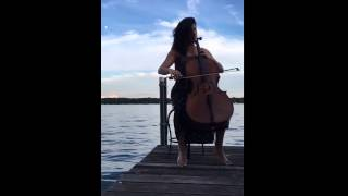 Cello by the Lake