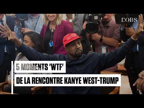 Les 5 moments les plus loufoques de la rencontre entre Kanye West et Trump