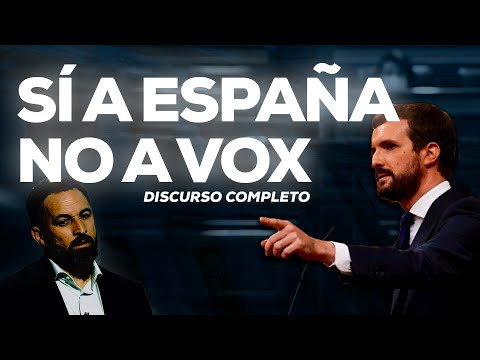 Pablo Casado interviene en el debate de la moción ...
