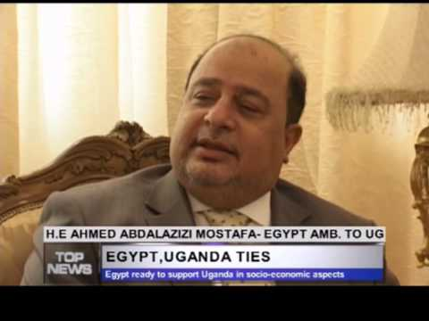 Interview with H.E. Ambassador of Egypt H.E. Ahmed Abdel Aziz at Top T.V. Uganda