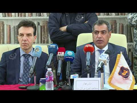 مؤتمر صحفي مشترك لجهاز مكافحة الهجرة غير الشرعية مع السفير الإيطالي ومفوضية شؤون اللاجئين
