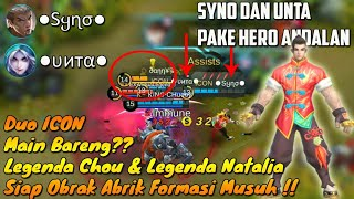 Video Ketika Syno Dikasih Chou Dan Unta Dikasih Natalia-Duo ICON Ngeri Mainnya!! Mobile Legends MP3, 3GP, MP4, WEBM, AVI, FLV September 2018