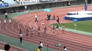 関東・関西IC男子100m比較