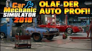 Olaf der Auto Profi! - Auto-Werkstatt Simulator 2018 #01 - CMS18 Deutsch