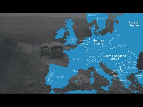 Animated Map Shows How World War I Changed Europe's Borders