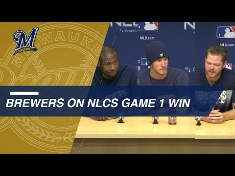 Video: NLCS Gm1: Counsell, Brewers discuss 6-5 win in Game 1