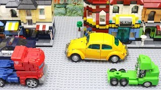 Video Transformers Bumblebee Movie Animation Robot Truck Lego Fast Food Robbery Police Car for kids MP3, 3GP, MP4, WEBM, AVI, FLV Juli 2019