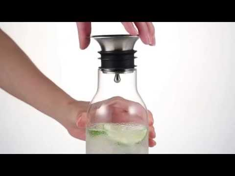 Samaduran Glass Carafe/Samadoyo Glass Water Bottle