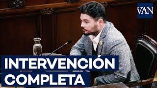[JUICIO PROCÉS] Intervención completa de Gabriel Rufián