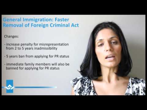 Faster Removal of Foreign Criminals Act Video