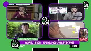 5 - Gabriel Sindoni - Jefe del Programa Juventudes en FM Lafinur