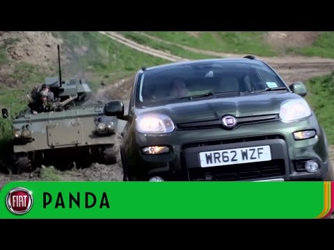 Fiat Panda 4x4 at Robin Hoods Bay Off-Road Test Track