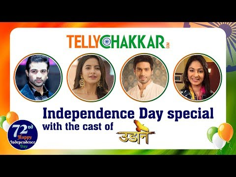 Cast of Udaan show their patriotic vibe | Independ