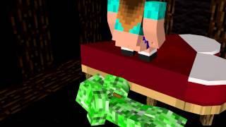 Achievement Hunter Minecraft Animation: Shit on my chest.
