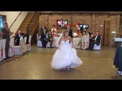 Nasz śmieszny pierwszy taniec! 21.09.2013!!! Sylwia i Jarosław!