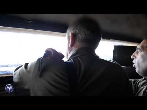 """ביקור הרמטכ""""ל בגבול סוריה"""