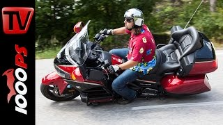 7. 2015 Honda GL 1800 Goldwing Test | 40th Anniversary Edition - ENGL Subs
