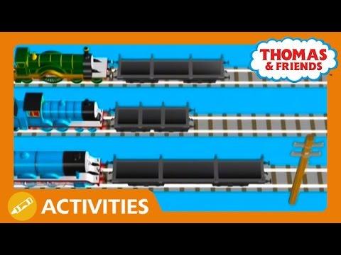 Who Should Take the Telegraph Pole? | Thomas & Friends