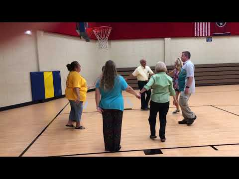 Video: Square dancing at Rock Springs Elementary School