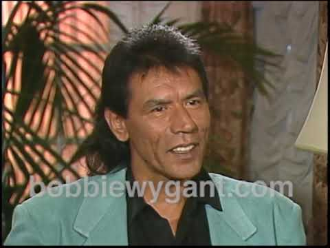 """Wes Studi """"The Last Of The Mohicans"""" 1992 - Bobbie Wygant Archive"""