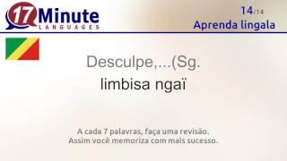 https://www.17-minute-languages.com/br/ln/ Neste vídeo você aprende as palavras mais importantes em lingala. Assista ao vídeo em 5 dias diferentes para ...