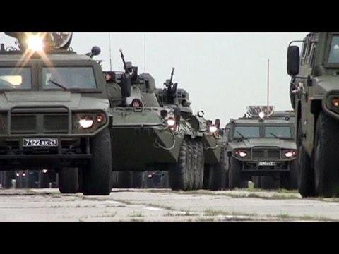Manoeuvres militaires américaines aux frontières de l'Ukraine