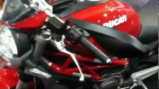 9. 2012 Ducati Monster 696 lookthrough
