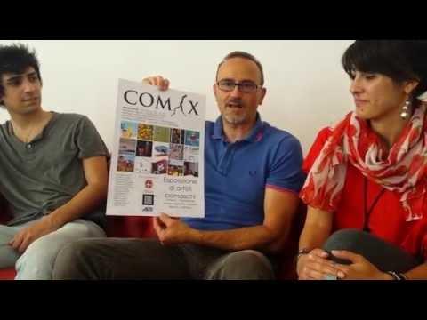 COM-X sabto 11 inaugura la mostra di fumetti e vignette all'Officinacento5