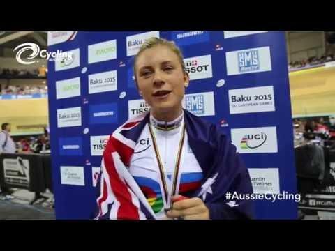 Annette Edmondson, 2015 Omnium World Champion