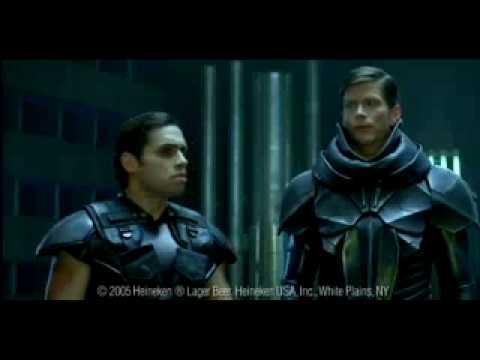 Heineken Superhero Commercial .45 sec - actor Danny Arroyo