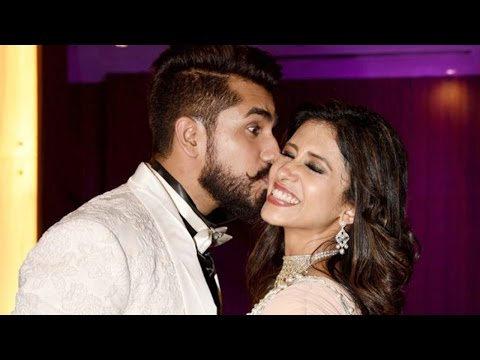 Kishwer Merchant & Suyyash Rai Wedding Reception D