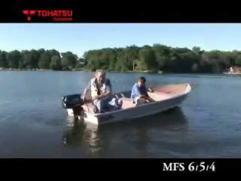 Tohatsu video showcasing the MFS line of Tohatsu Outboard Engines – 4HP, 5HP, and 6HP.