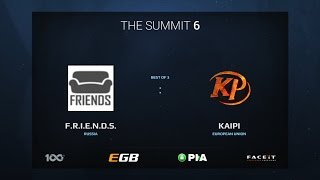 F.R.I.E.N.D.S. vs Kaipi, Game 3, The Summit 6 Qualifiers, Europe