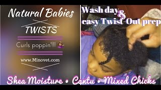 Natural Baby Twist-Out Prep