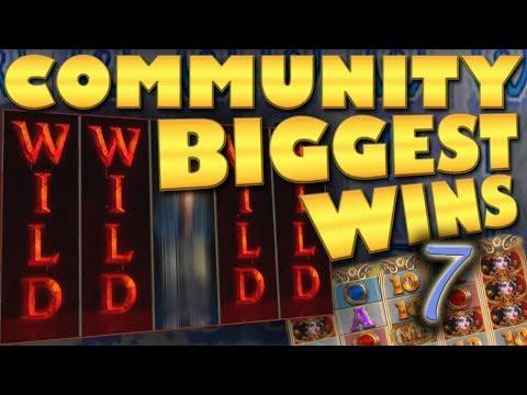 CasinoGrounds Community Biggest Wins #7 / 2018