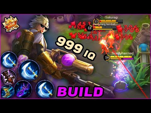 KIMMY With 100% CRITICAL CHANCE BUILD! Believe You Can't Even Count Her Damage! Mobile Legends