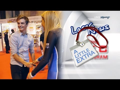 LASER NEWS EXTRA Autosport International - Aiden & Sam compete!