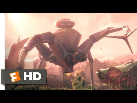 Wonder Park (2019) - Robot Spider Attack Scene (4/10) | Movieclips