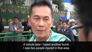 Thailand Two Bombs Leave Dozens Injured At Bangkok Protest - Video