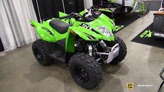 7. 2018 Arctic Cat DVX 90 Sport ATV - Walkaround - 2017 Toronto Snowmobile ATV Show