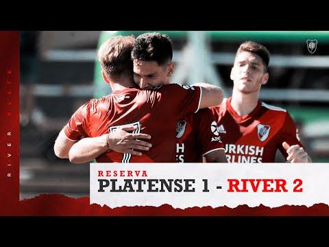 Reserva  Los goles de River frente a Platense