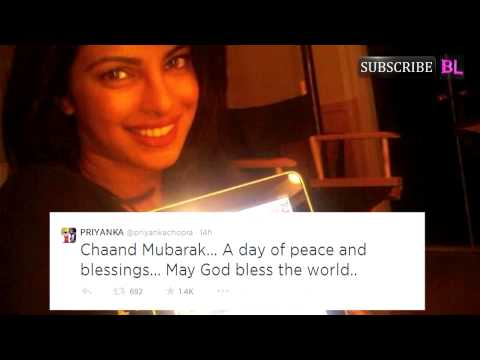 mubarak - Eid Mubarak, tweet Shah Rukh Khan, Priyanka Chopra, Amitabh Bachchan by http://www.bollywoodlife.com They might be in different parts of the world, but the Bollywood stars didn't forget...