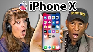 ELDERS REACT TO iPhone X and 8