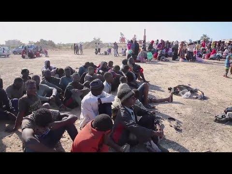 Libyen: Migranten wegen Folter in Lagern festgenommen