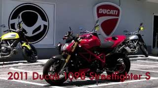 9. Pre-Owned 2011 Ducati Streetfighter S Red at Euro Cycles of Tampa Bay