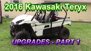 9. 2016 Kawasaki Teryx Upgrades - Part 1