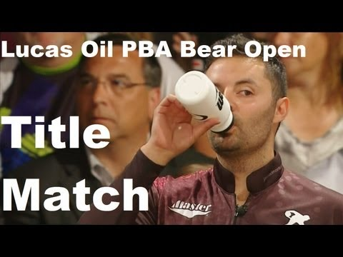 Lucas Oil Bear Open title match vs Chris Barnes