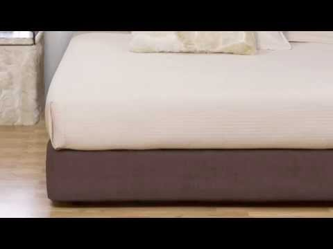Video for Avanti Pecan Full Box spring Cover