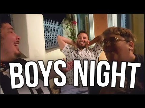 Boys Night Out in Greece (ft. Greek & Andy Milonakis)