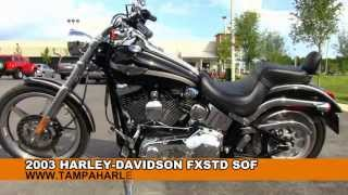 1. Used 2003 Harley Davidson FXSTD Softail Deuce For sale Specs
